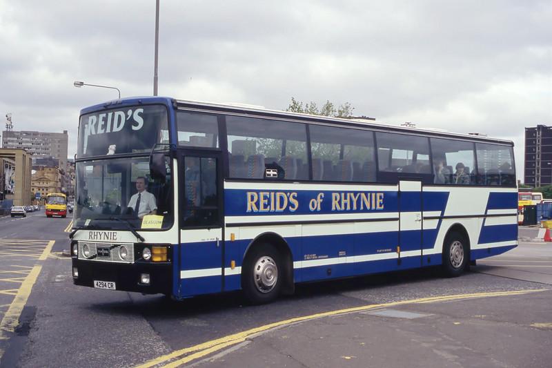 Reid Rhynie 4294CR Buchanan Bus Stn Glasgow Aug 94