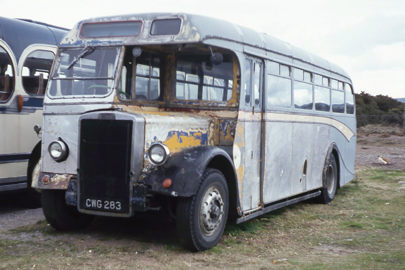 Preserved_Findlay Buckie CWG283 Kinloss May 79