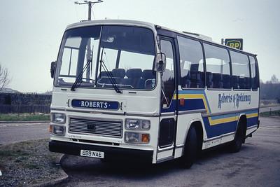 Roberts Rothiemay 699NAE Depot Rothiemay Apr 94