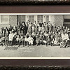 School Picture taken in 1920.. South side of the old 2 story school building... It is best viewed by downloading the original picture , use the scroll bar to view from side to side.