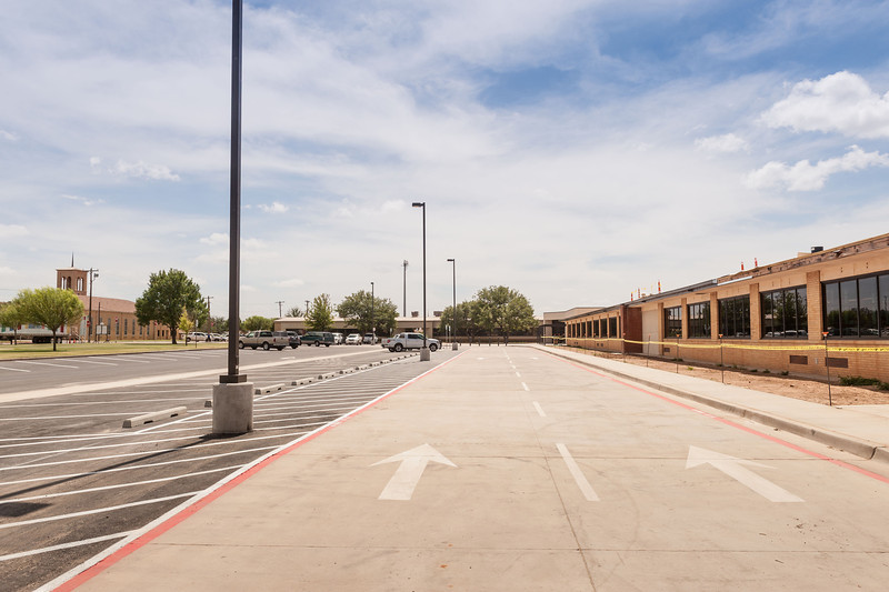 Elementary is Finished, Kids back in their New Classrooms, Kids Bldg, 8-28-2013