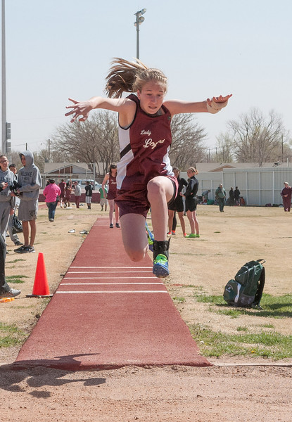 Abernathy Jr. High Track Meet, 3-26-2013