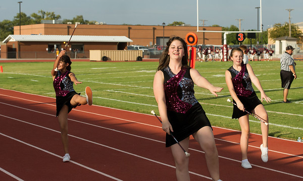 Abernathy Jr. HighTwirlers, 10-11-12