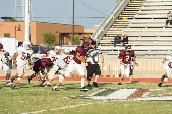 Antelopes Jr. High 8th vs Tulia. 10-11-12
