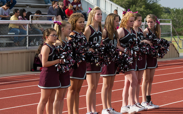 Jr. High Cheerleaders, 10-11-12