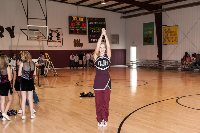 Jr. High Pep Rally, 11-8-2012