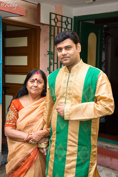 Abhishek and  Satabdi's wedding