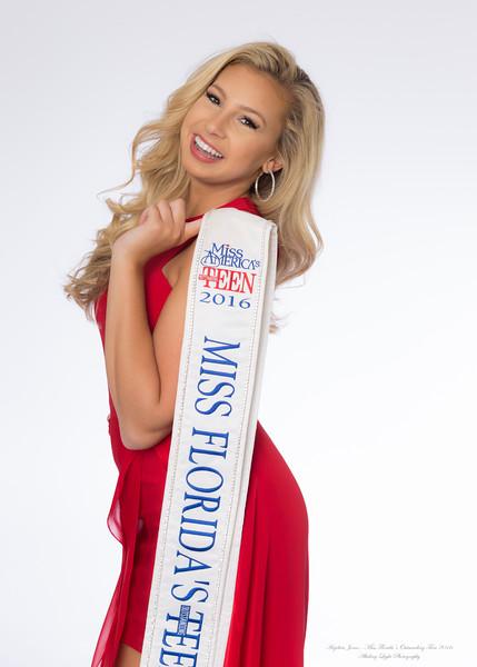 Anjelica Jones - Miss Florida's Outstanding Teen 2016