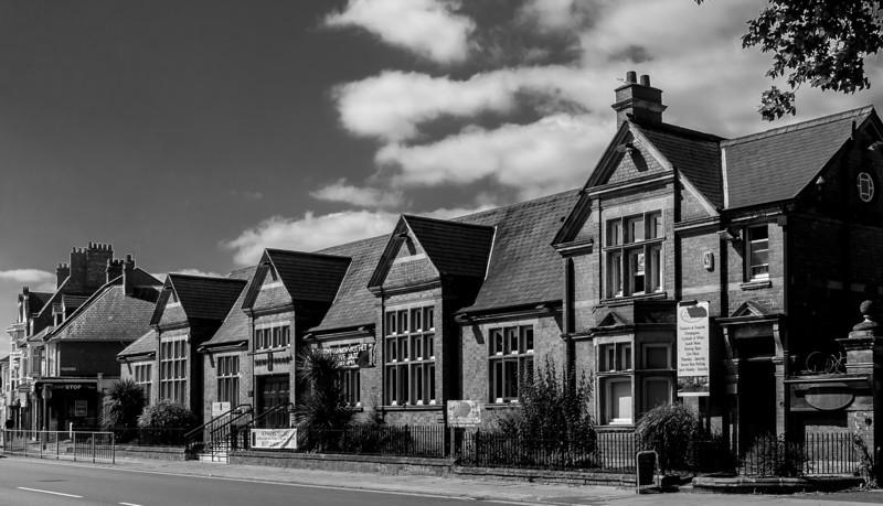 Manfield Shoe Factory, Wellingborough Road,  Northampton, August 2013