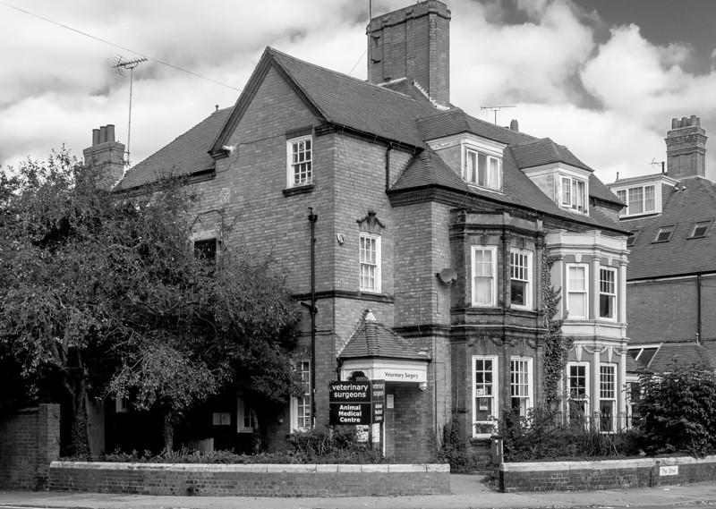 Veterinary Surgery, Abington Grove, Northampton, August 2013