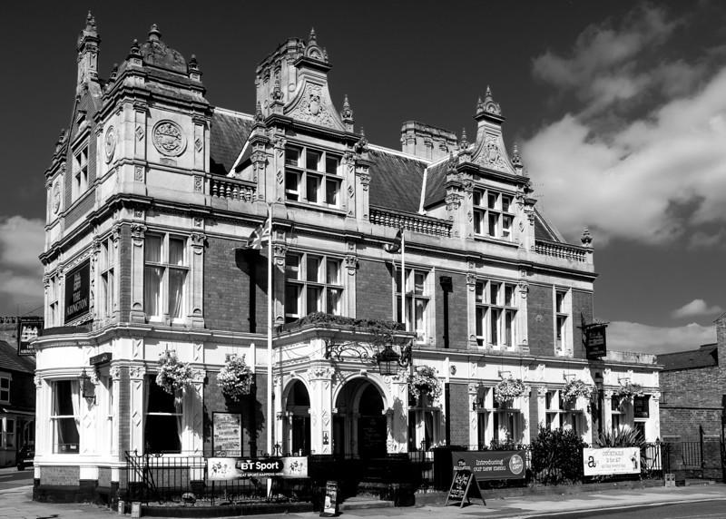 The Abington Park Hotel, Wellingborough Road, Northampton, August 2013