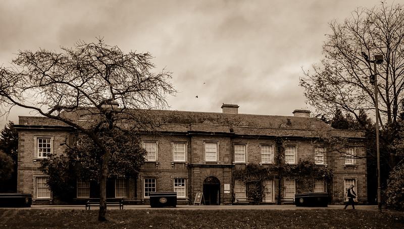 Frontage, Abington Abbey, Northampton_