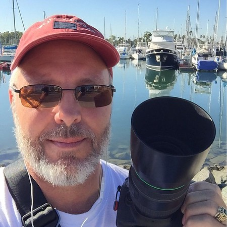 Out Shooting in Coronado, CA.