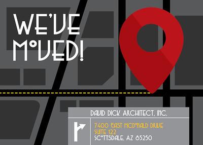 David Dick Architect has a new address!
