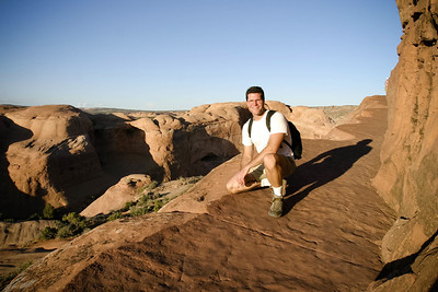 Hiking to Delicate Arch - Moab Utah