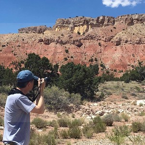On the Ghost Ranch, NM