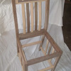 Timber edge chair assembly