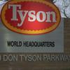 Custom Table for Tyson Foods