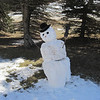 Amish Snow Man