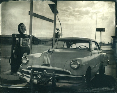 Route 66 Pontiac wet plate