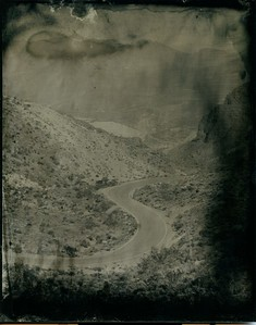 Kingman to Oatman Road wet plate