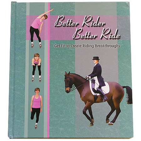 Better Rider Better Ride (Cover Image of Horse & Rider)<br /> <br /> Developed by USDF Bronze and Silver Medalist, Linda Schultz, this detailed program for rider fitness is designed to promote improvement in areas that one needs to be good at in riding, such as; better posture, improved reaction times, improved body composition, better balance and coordination, better discipline, and much more. This fitness program is great for riders of any age or experience level.<br /> <br /> The cover image of horse and rider is my image. - Jennifer Munson Photography<br /> <br /> This is a great book guys. Available online at places like USDF Merchandise, Amazon, Half Halt Press just to name a few...