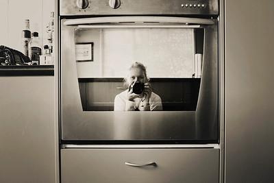 Oven Selfie