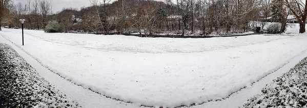 First 2013 Snow February 2 in Middle Tennessee