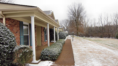 January 7, 2010, Snow at my home in Nashville