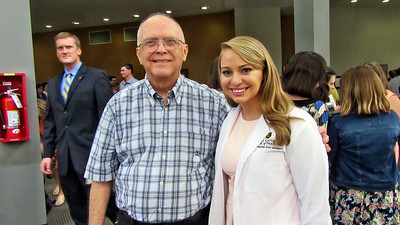 Great Niece Kellie Abbott's White Coat Ceremony at ETSU in Johnson City , TN