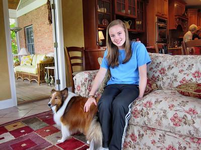 Visiting Kerry and Laura in Cincinnati - Ashley