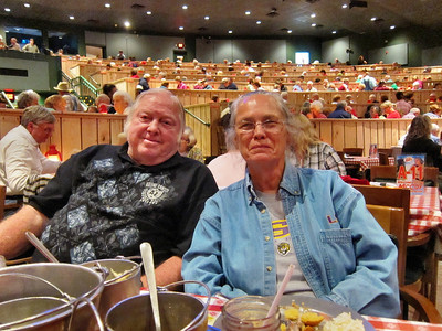 Family Trip in Pigeon Forge, TN - my sister Shirley and her husband Bobby Youngblood