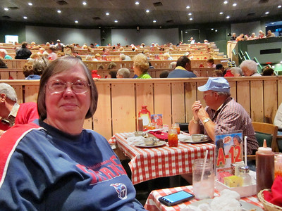 Family Trip in Pigeon Forge, TN - my sister Pat Betts