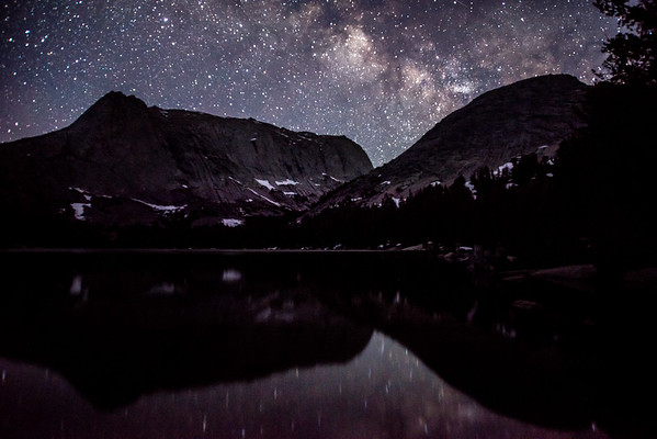 Milky way over Clear Lake Windrivers