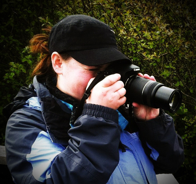 Me taking pictures at the Pacific Coast of Washington state, at Cape Flattery- the most Northwestern Point of the continental U.S.!
