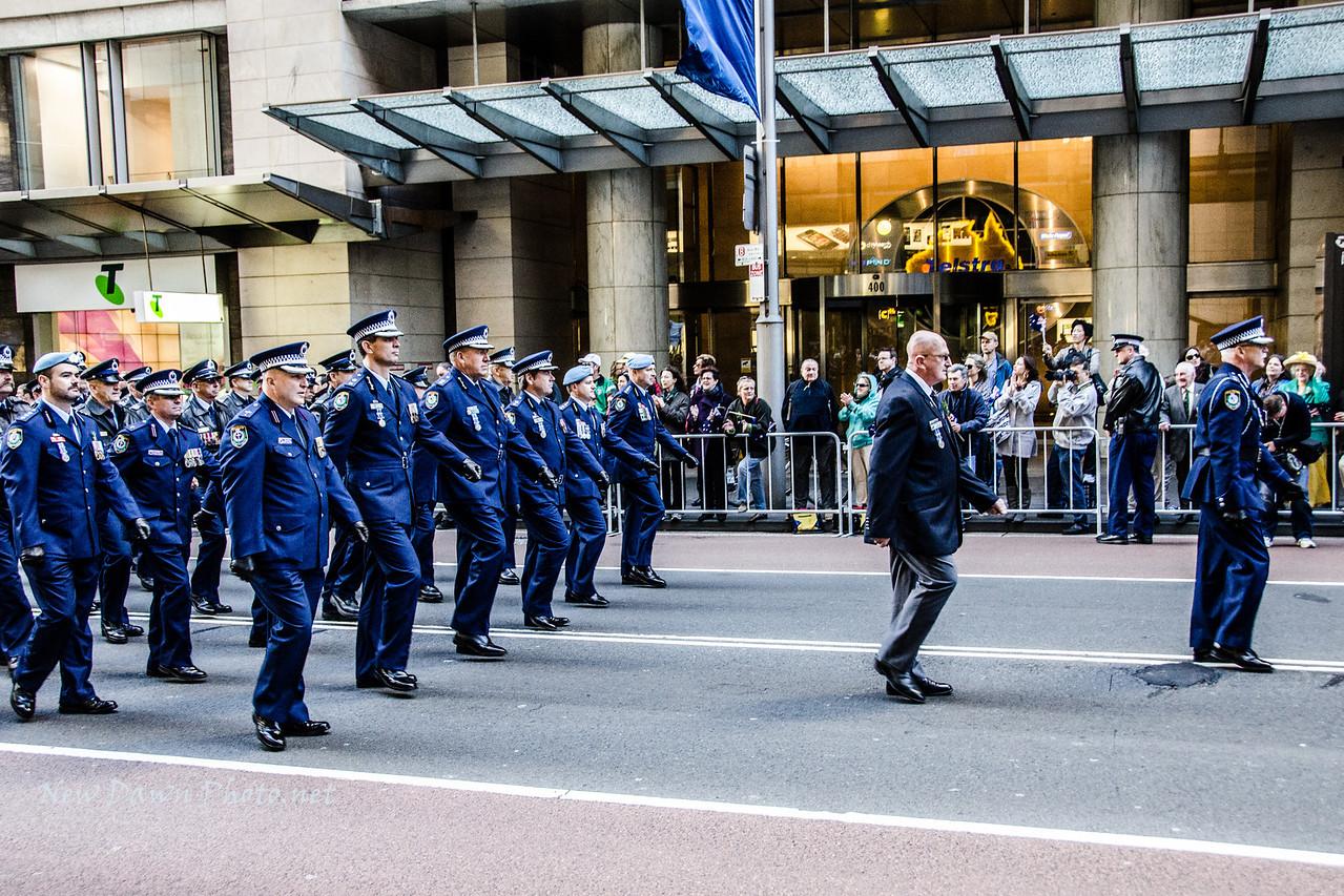 ANZAC Day Parade 2012