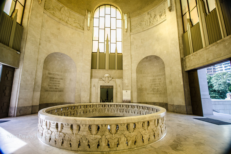 Inside the ANZAC Memorial