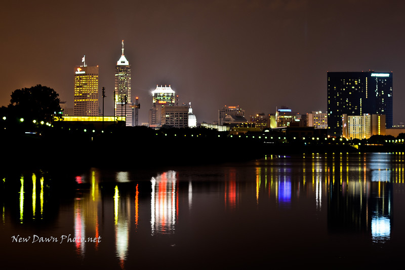 Indianapolis @ night