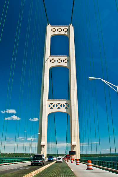 Mackinaw Bridge, Mackinaw City, MI,