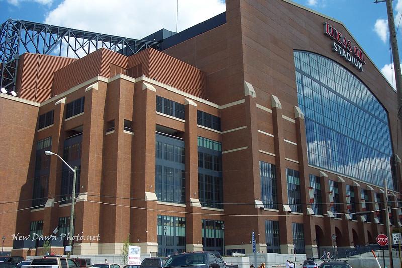 Lucas Oil Stadium. The House Peyton Built!