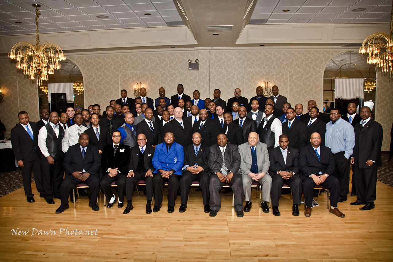 2012 Founder's Day-Xi Sigma Alumni Chapter of Central Indiana<br /> Honoring Bro. Arnald Beckwit-Service<br /> Honoring Bro. Dr. Justin Hunter