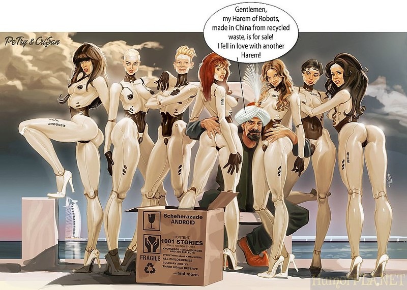 51. The Harem of Robots