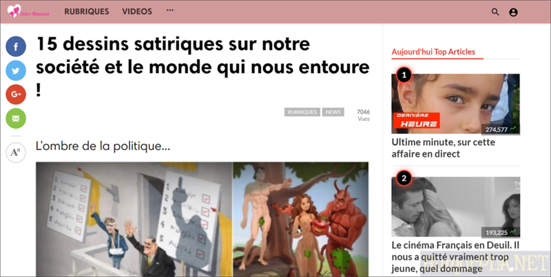 Published in Entre Mamans - France