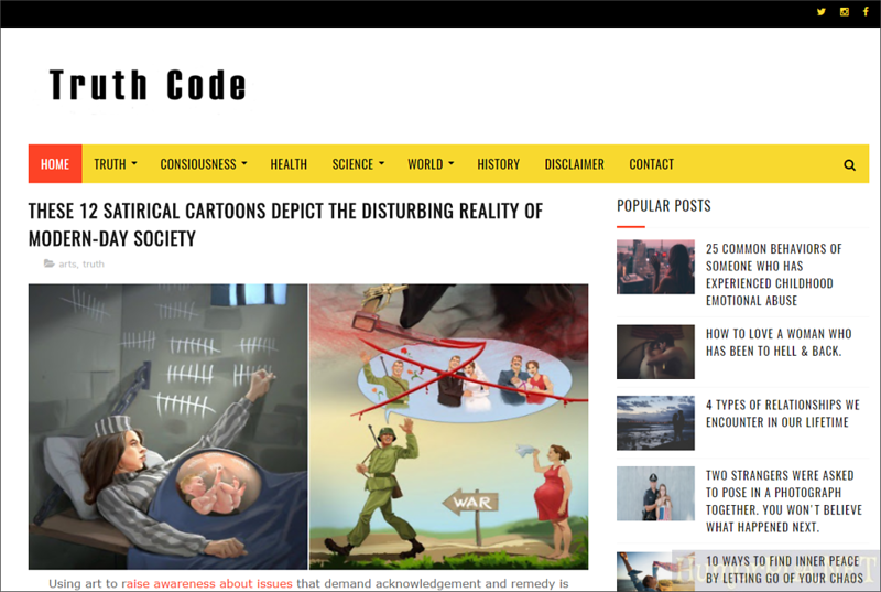 Published in Truth Code