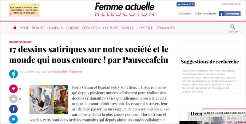Published in Hellocoton - France
