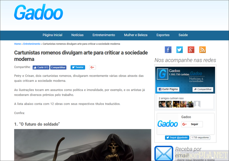 Published in Gadoo - Brazil
