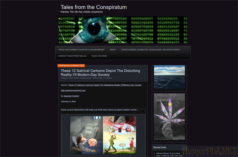 Published in Tales from Conspiratum