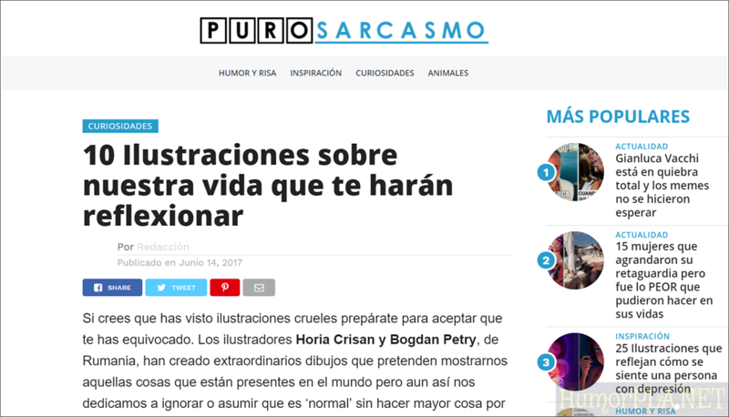 Published in Puro Sarcasmo - Spain