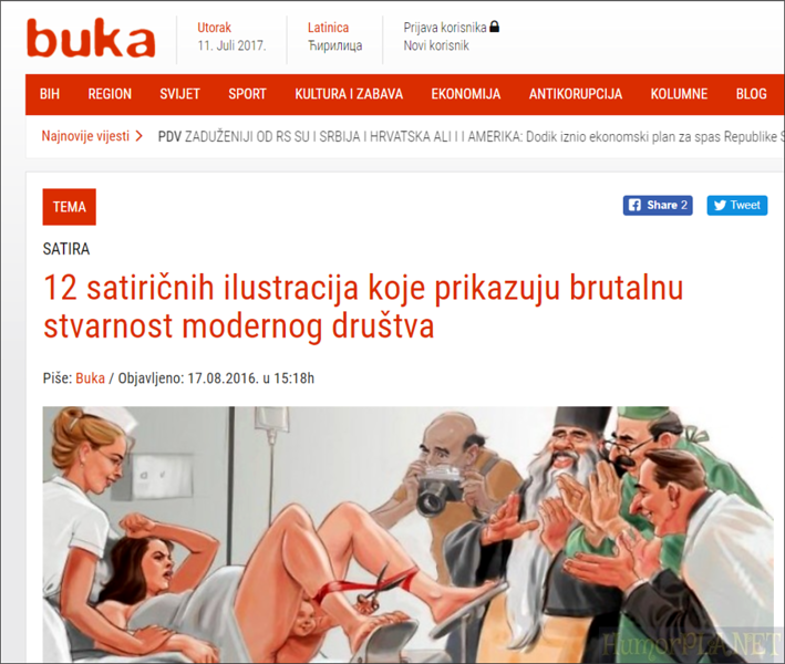 Published in Buka (Bosnia and Herzegovina)