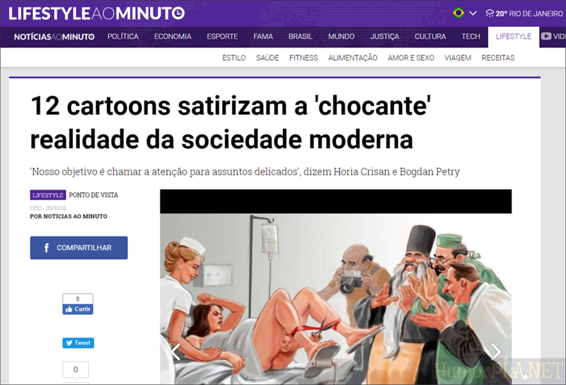 Published in Noticias Ao Minuto (Brazil)